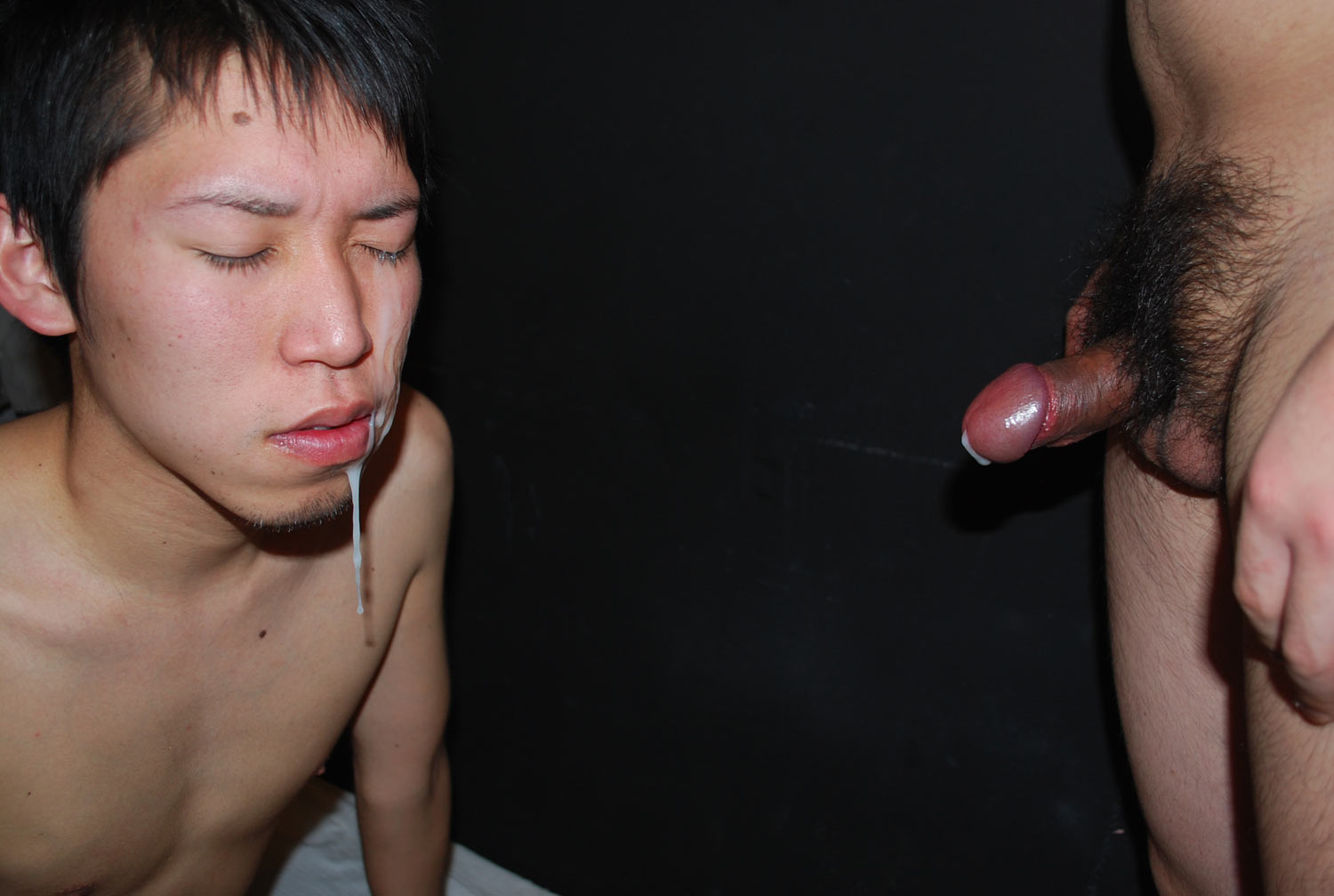 JapanBoyz-Keisuke-and-Shinji-Big-Cock-Asian-Guys-Give-Each-Other-Cum-Facial-Amateur-Gay-Porn-19 Big Cock Asian Boys Give Each Other HUGE Cum Facials