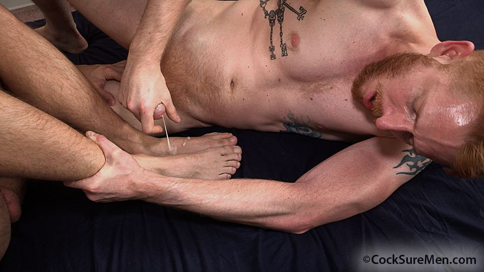Cocksure-Men-Heath-Anthony-and-Devan-Bryant-Redhead-Gets-Barebacked-By-Hairy-Daddy-Amateur-Gay-Porn-16 Heath Anthony Barebacks Devan Bryant's Hairy Ginger Ass