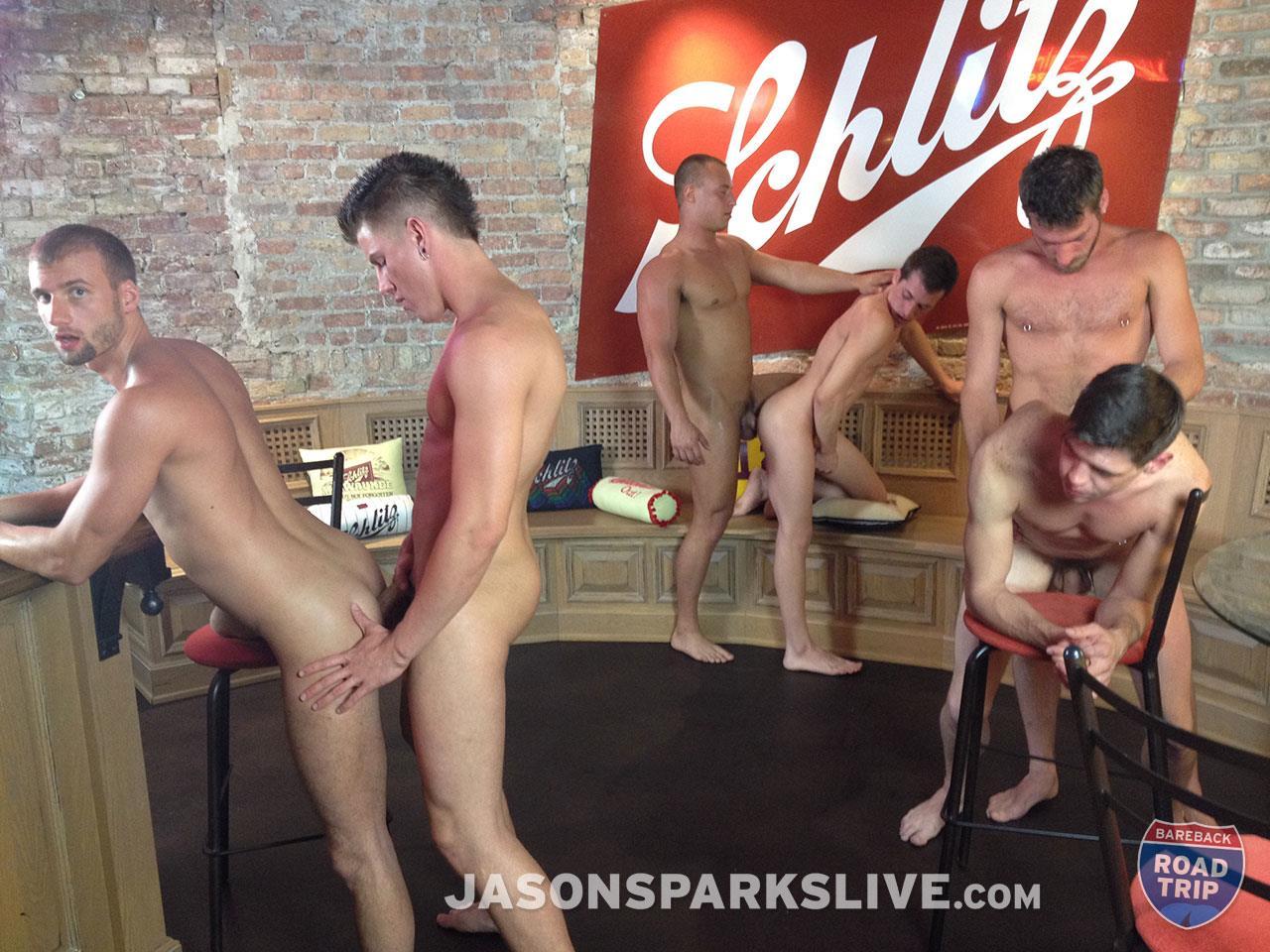 Jason-Sparks-Live-Dustin-Tyler-Shawn-Andrews-Brendon-Scott-Corbin-Riley-Antonio-Paul-Jake-Matthews-Bareback-Orgy-Amateur-Gay-Porn-12 Big Cock Amateur Bareback Orgy in Milwaukee