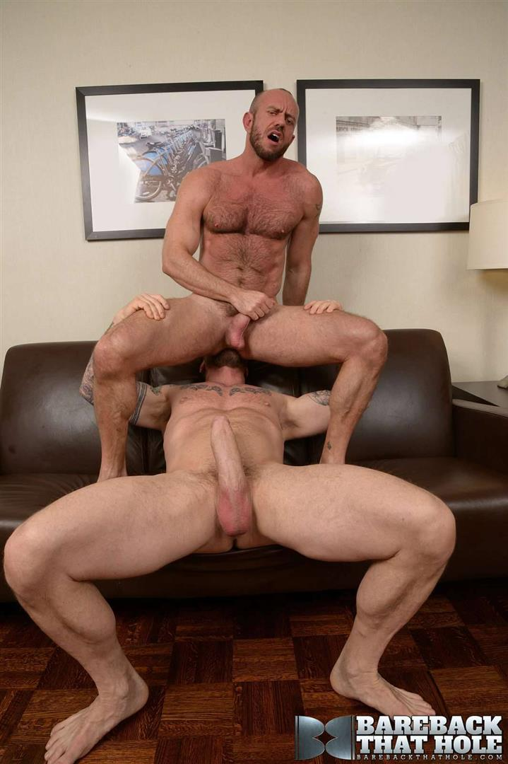 Bareback-That-Hole-Rocco-Steele-and-Matt-Stevens-Hairy-Muscle-Daddy-Bareback-Amateur-Gay-Porn-11 Hairy Muscle Daddy Rocco Steele Breeding Matt Stevens