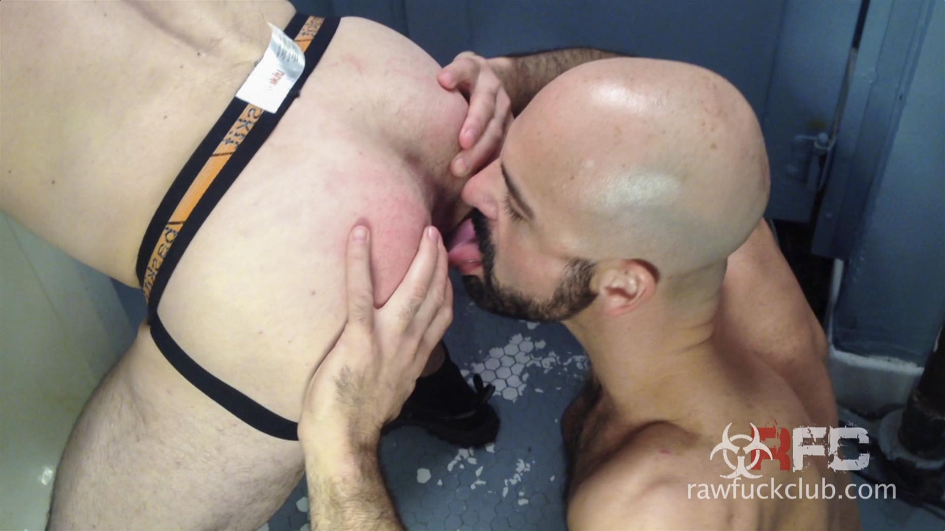 Raw-Fuck-Club-Adam-Russo-and-Kyle-Ferris-Anonymous-Bareback-Sex-Amateur-Gay-Porn-4 Adam Russo Barebacking A Stranger In A Dirty Bar Bathroom