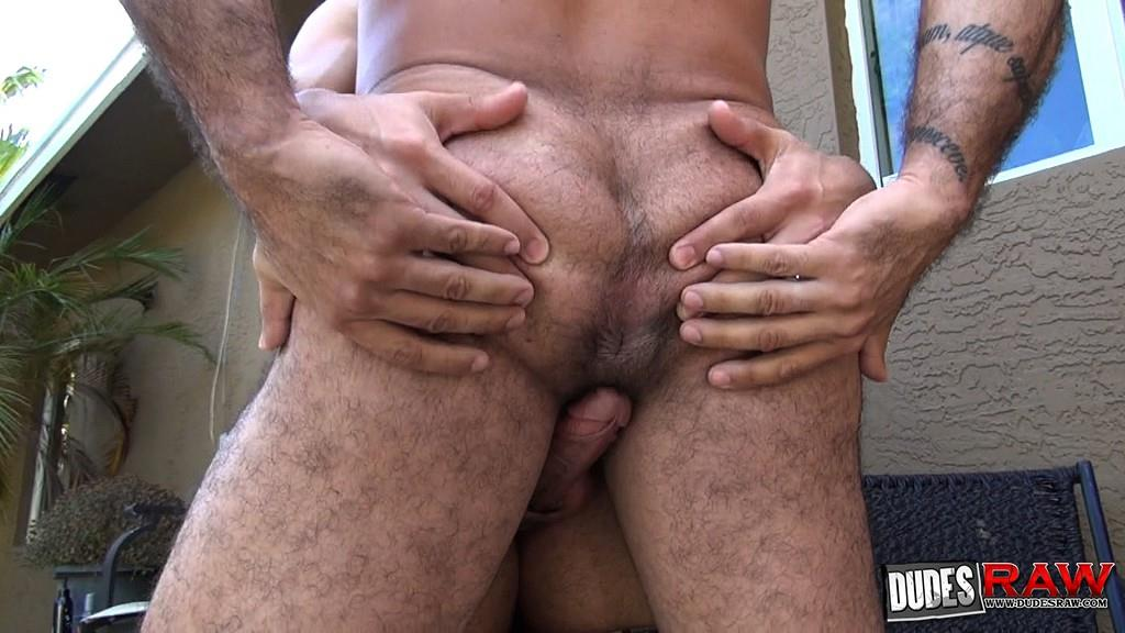 Dudes-Raw-Alessio-Romero-and-Mario-Cruz-Bareback-Muscle-Daddy-Latino-Amateur-Gay-Porn-25 Muscle Daddy Alessio Romero Gets Bred By Mario Cruz