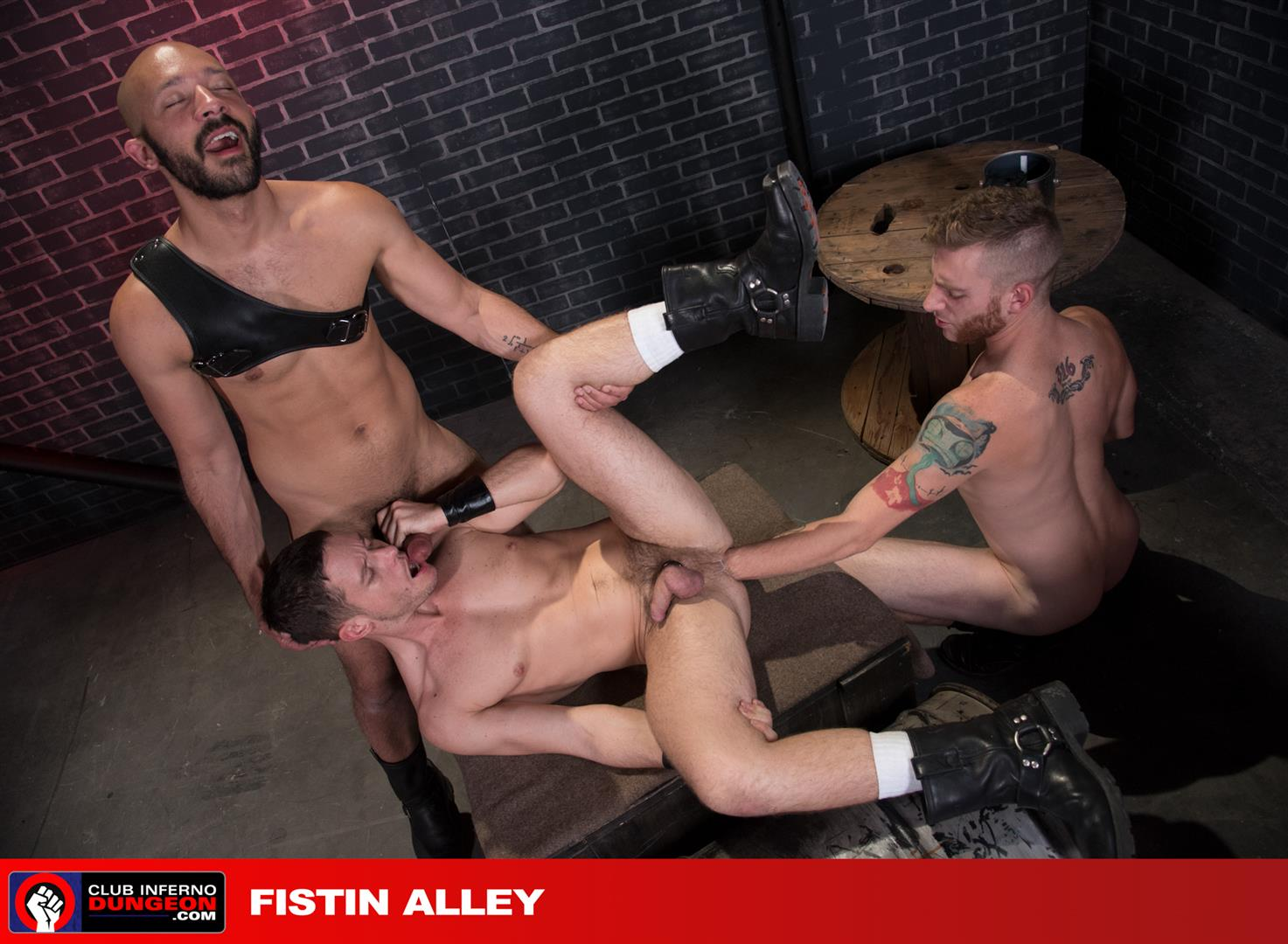 Club-Inferno-Dungeon-Sebastian-Keys-and-Dylan-Strokes-and-Ashley-Ryder-Fisting-15 Sebastian Keys and Ashley Ryder Get Their Asses Fisted