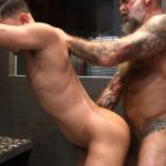 Victor-Cody-XXX-Nate-Pierce-and-Cesar-Xes-Bareback-Bathhouse-Sex-24-150x150 Getting Fucked By A Hairy Daddy In The Bathhouse Shower